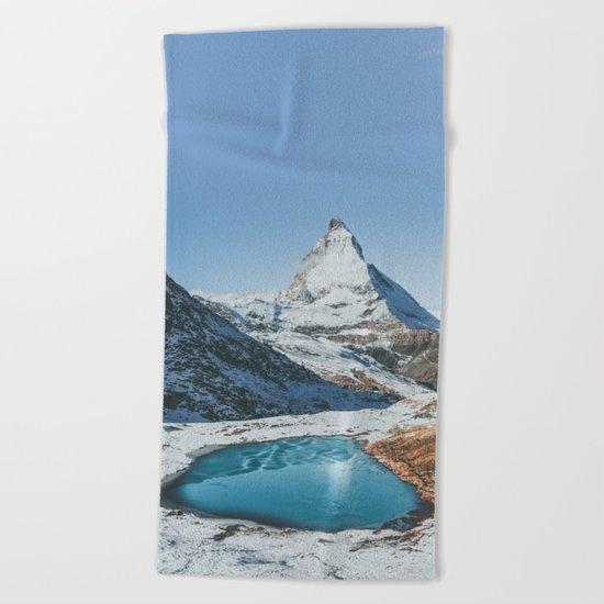 Matterhorn Beach Towel