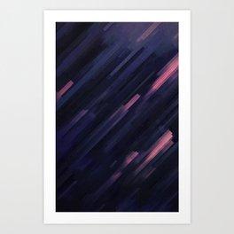 Glitched v.8 Art Print