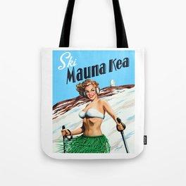 Ski Mauna Kea Tote Bag