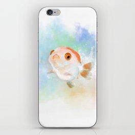 My little Joker_goldfish iPhone Skin