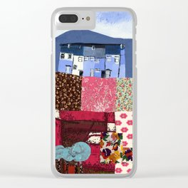 Houses in a Patch Clear iPhone Case