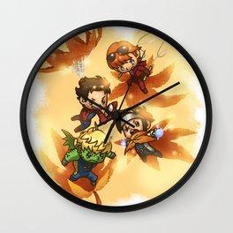 the fall.  Wall Clock