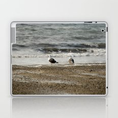 Ocean contemplation Laptop & iPad Skin
