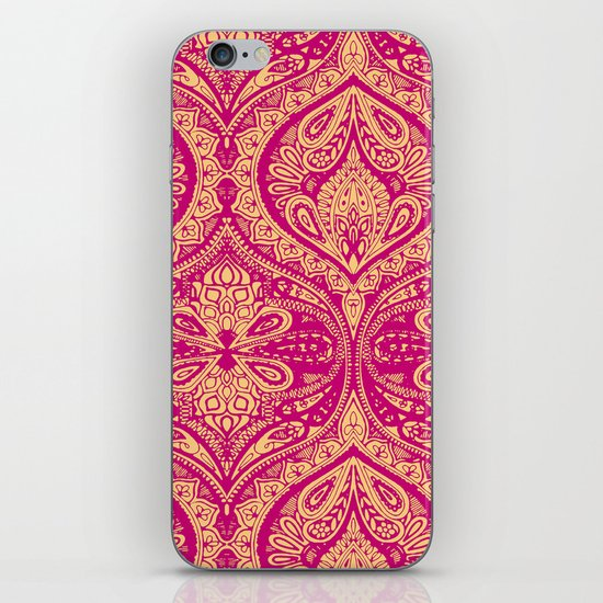 Simple Ogee Pink iPhone & iPod Skin