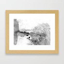 grey force, grey electricity Framed Art Print