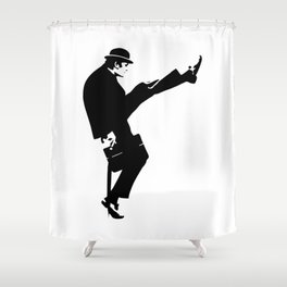The Ministry of Silly Walks Artwork for Wall Art, Prints, Posters, Tshirts, Men, Women, Kids Shower Curtain