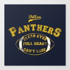 Dillon Panthers Canvas Print
