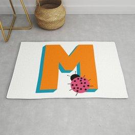 Letter M Rug