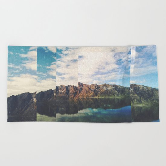 Fractions A55 Beach Towel