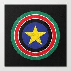 Captain South Sudan Canvas Print