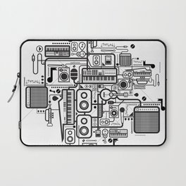 Audio Connected Laptop Sleeve