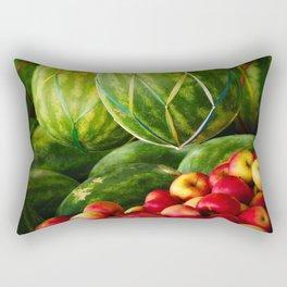 Watermelons and Apples  Rectangular Pillow