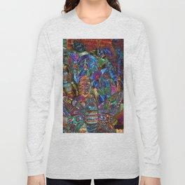 Psychedelic Buddha Long Sleeve T-shirt