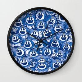 A Whole Lotta Jack Frost! Wall Clock