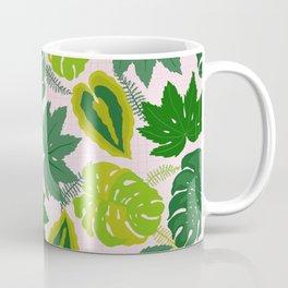 Greens and Leaves Coffee Mug