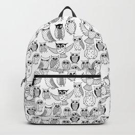 Funny owls Backpack