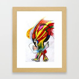 Mountain Goat Framed Art Print