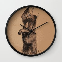 Scratch that itch Wall Clock