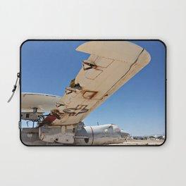 E-2B Sits in The Boneyard Laptop Sleeve