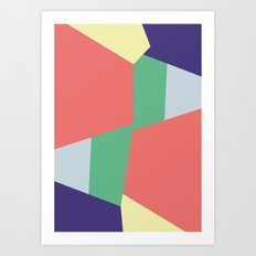 Mysterious Shapes Art Print