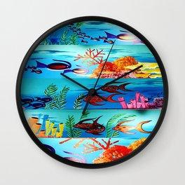 Beautiful Sea Life Wall Clock