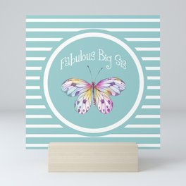 Fabulous Big Sister Gifts Mini Art Print