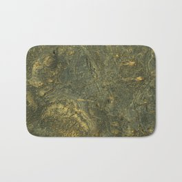 golden scales of the dragon ares   space #14 Bath Mat