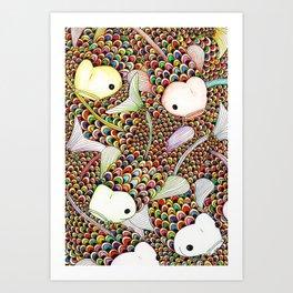Carps Art Print
