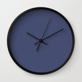 Posey Violet in an English Country Garden Wall Clock