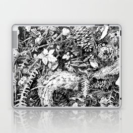 Inky Undergrowth Laptop & iPad Skin