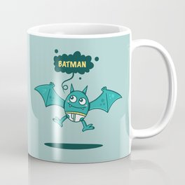 Bat Man Bat Coffee Mug
