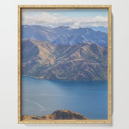 Roys Peak Lookout 1 Serving Tray