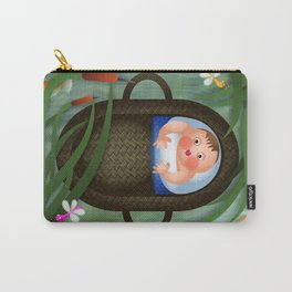 Baby Moses on the River Nile Carry-All Pouch
