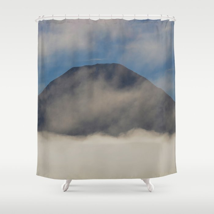 Early Morning Mist - II Shower Curtain