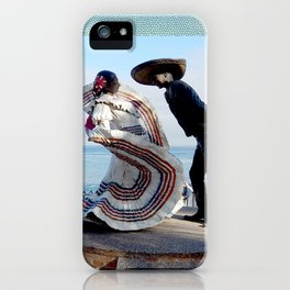 Puerto Vallarta, Mexico Sculpture by the Sea iPhone Case