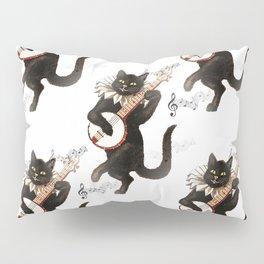 Dancing Cats Pillow Sham