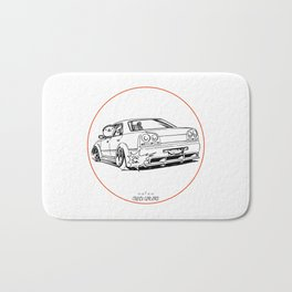 Crazy Car Art 0215 Bath Mat