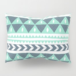 Winter Stripe Pillow Sham