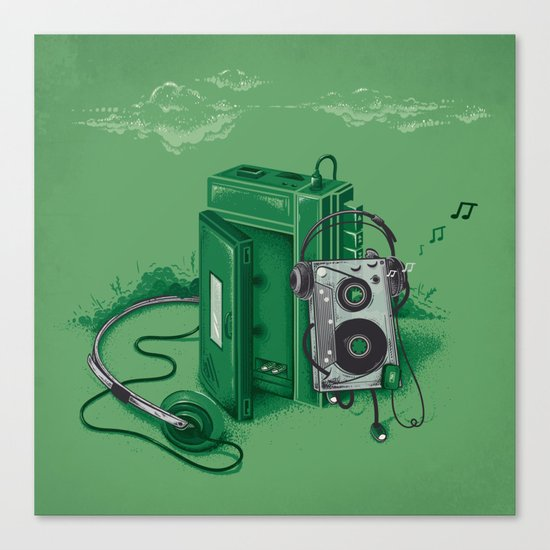 Music Break Canvas Print