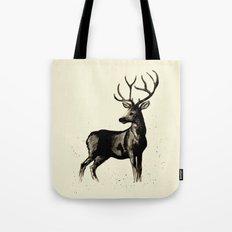 Deer Ink Tote Bag