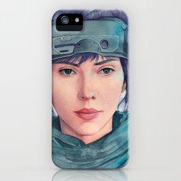 The Major (Scarlett Johansson) iPhone Case