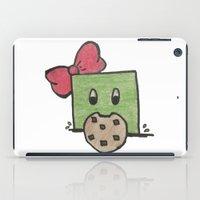cookie monster iPad Cases featuring Cookie Monster Slime by MishanAngel