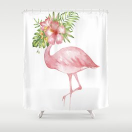 Flamingo Dreams Shower Curtain