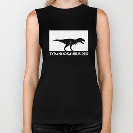 Tyrannosaurus Rex Dinosaur Biker Tank