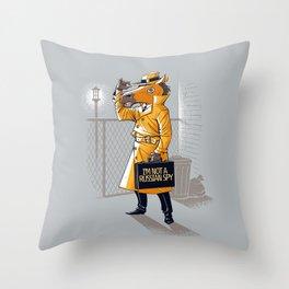 I'm Not a Russian Spy Throw Pillow