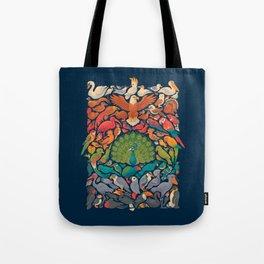 Aerial Spectrum : Blue Tote Bag