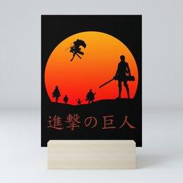 Scout Regiment Mini Art Print