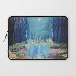 Nightfall at the pond Laptop Sleeve
