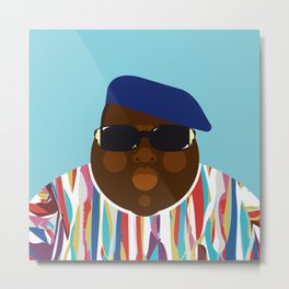 Notorious V Metal Print