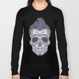 Skull of the sixties Long Sleeve T-shirt